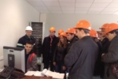 "Students of Belarusian-Russian University got acquainted with the benefits of having industrial and predegree practice at a new modern ""Protos"" LLC production"