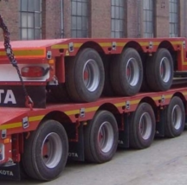 Specialized trailers and chassis delivery