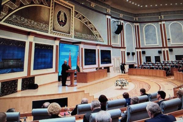 President of the Republic of Belarus Alexander Lukashenko had the first meeting with business circles representatives