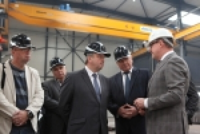 The Presidential Administration Head of the Republic of Belarus Andrey Kobyakov got acquainted with new modern manufacturing of metal bridge structures