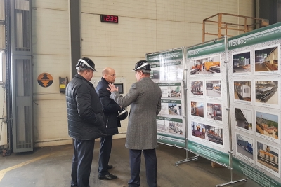 The head of the Belarusian Railways Morozov V.М. made an official visit to Protos LLC.
