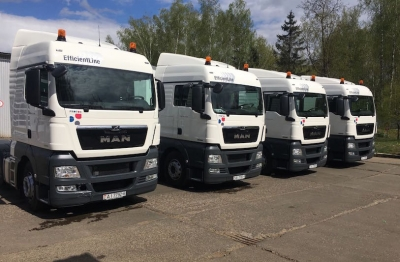A planned update of the Protos Auto LLS truck fleet has begun.